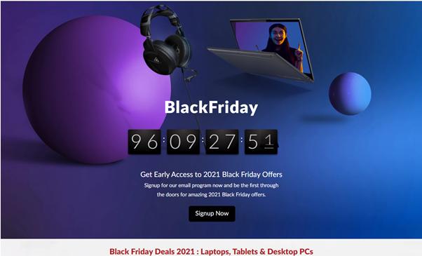 Black Friday at Lenovo